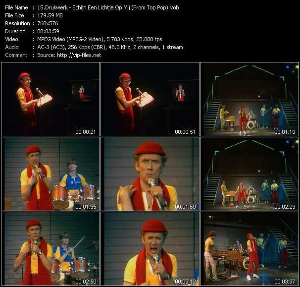download Drukwerk « Schijn Een Lichtje Op Mij (From Top Pop) » video vob