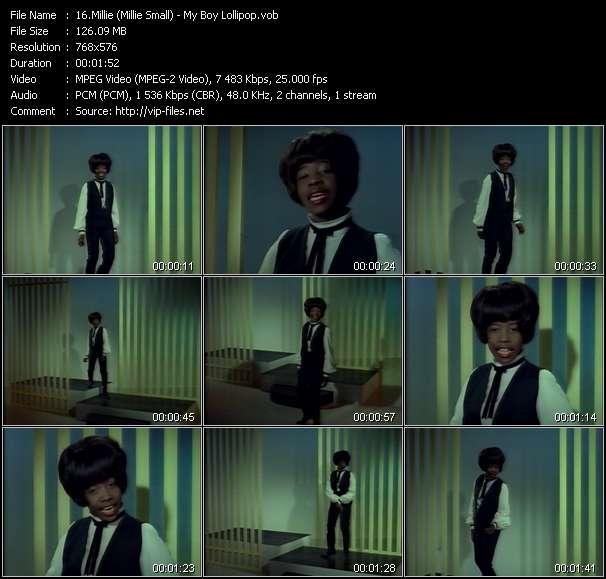 video My Boy Lollipop screen