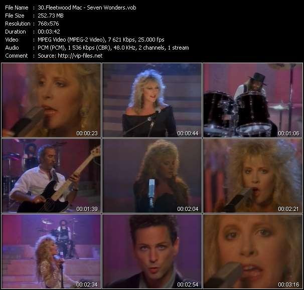 video Seven Wonders screen