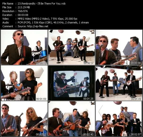 video I'll Be There For You screen