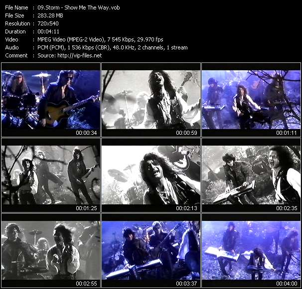 download Storm « Show Me The Way » video vob