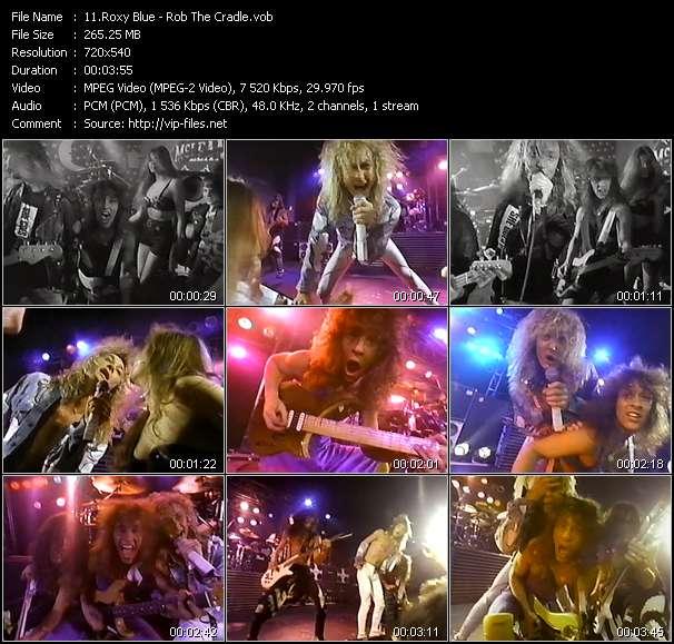 download Roxy Blue « Rob The Cradle » video vob