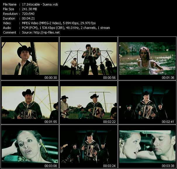 video Suena screen