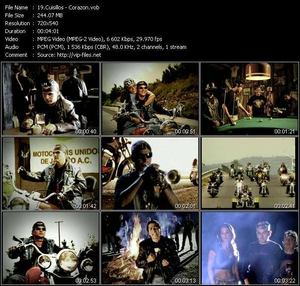 video Corazon screen