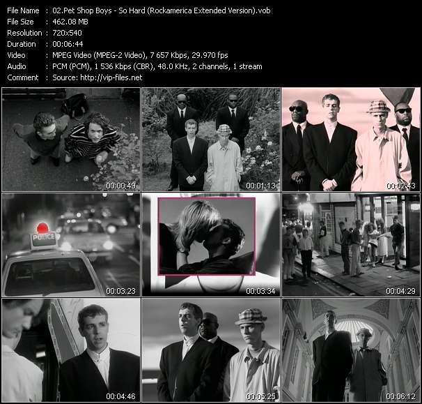 video So Hard (Rockamerica Extended Version) screen