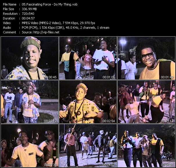download Fascinating Force « Do My Thing » video vob