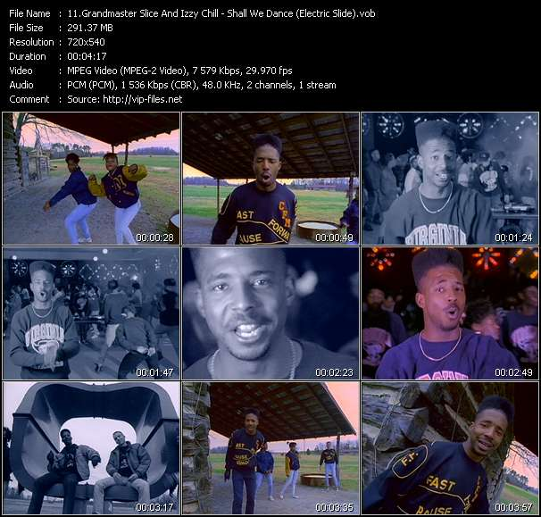 video Shall We Dance (Electric Slide) screen