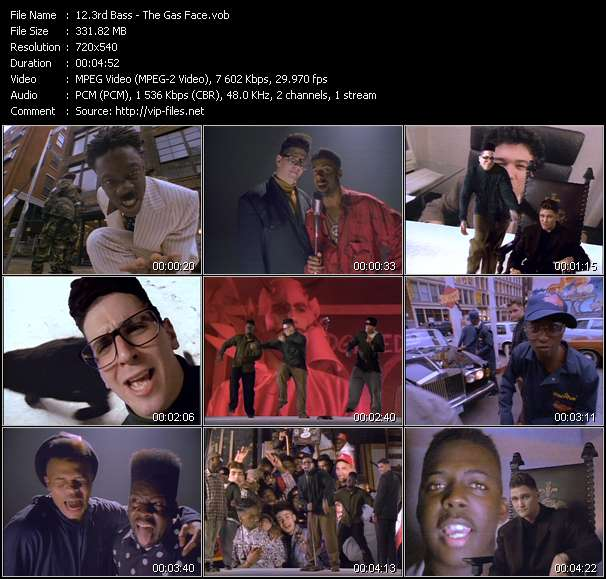 download 3rd Bass « The Gas Face » video vob