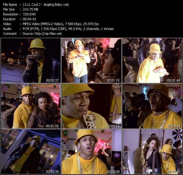 download LL Cool J « Jingling Baby » video vob