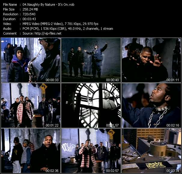 download Naughty By Nature « It's On » video vob