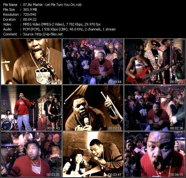 download Biz Markie « Let Me Turn You On » video vob