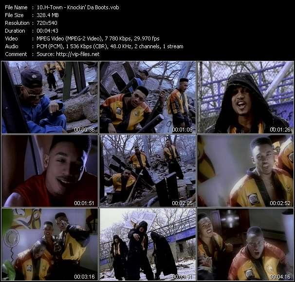 video Knockin' Da Boots screen