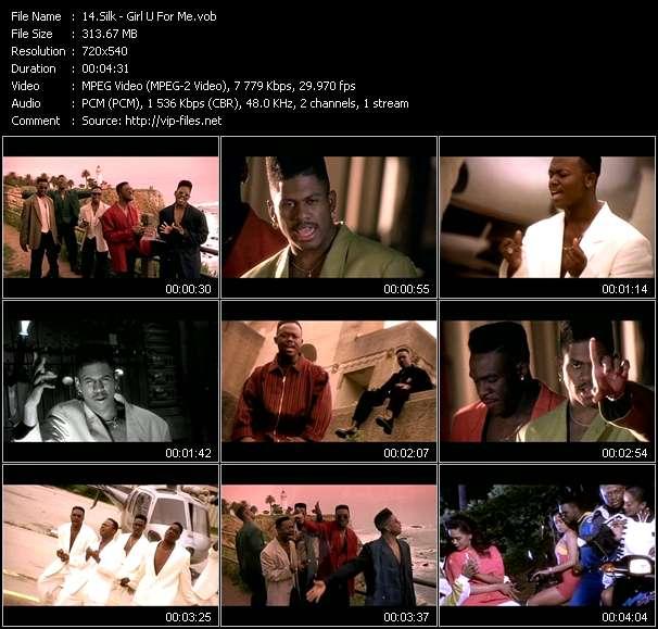 download Silk « Girl U For Me » video vob