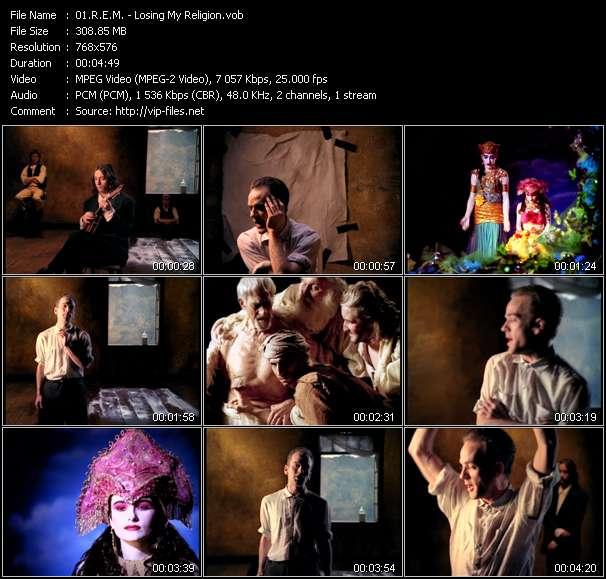 download R.E.M. « Losing My Religion » video vob