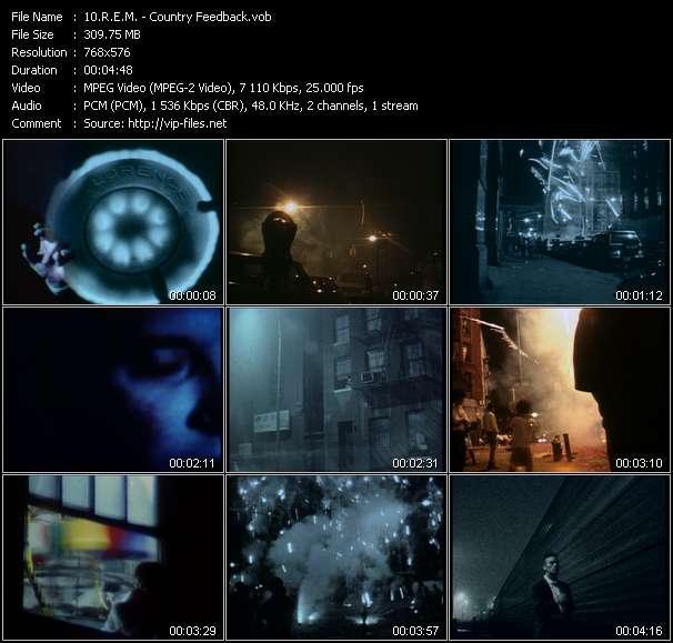 download R.E.M. « Country Feedback » video vob