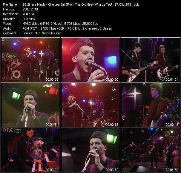 video Chelsea Girl (From The Old Grey Whistle Test, 27.03.1979) screen