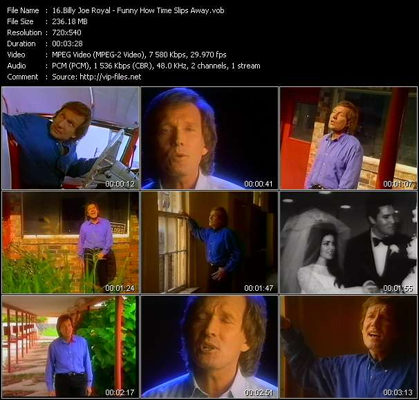 video Funny How Time Slips Away screen