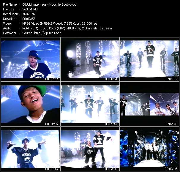 download Ultimate Kaos « Hoochie Booty » video vob