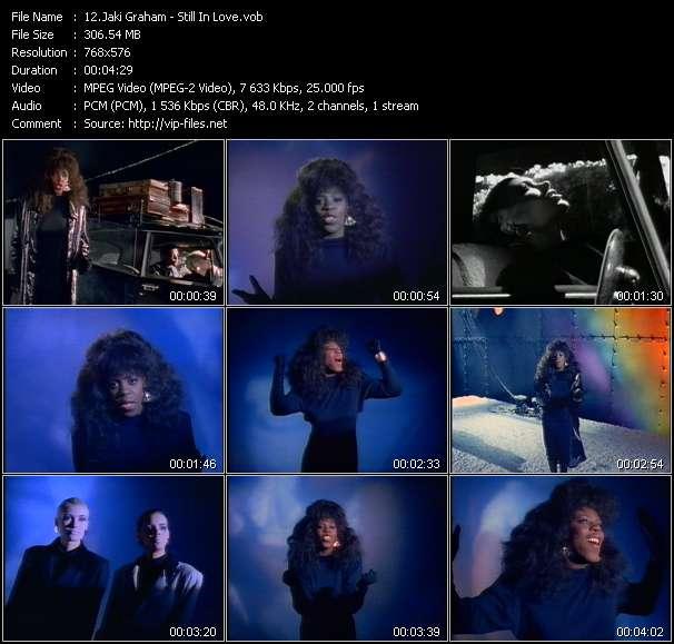 download Jaki Graham « Still In Love » video vob