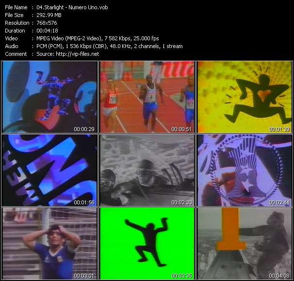 video Numero Uno screen