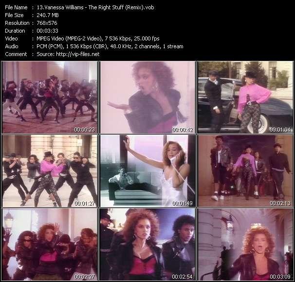 video The Right Stuff (Remix) screen