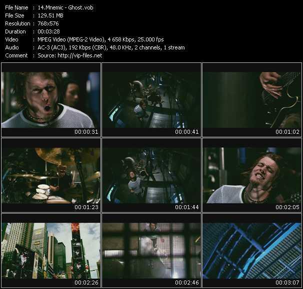 video Ghost screen
