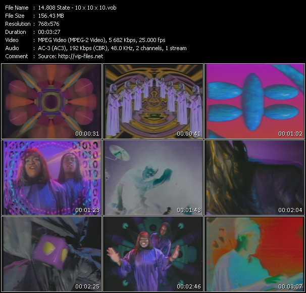 download 808 State « 10 x 10 x 10 » video vob