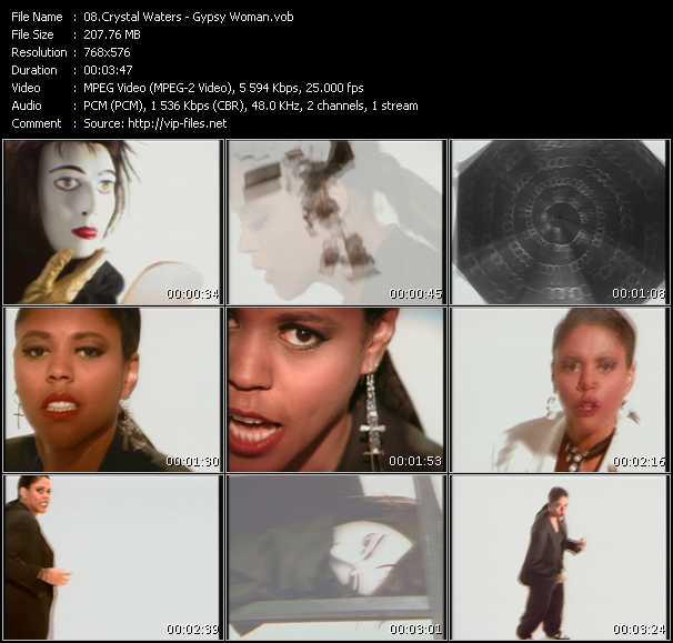 video Gypsy Woman screen