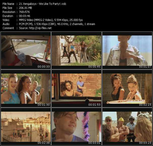 download Vengaboys « We Like To Party! » video vob