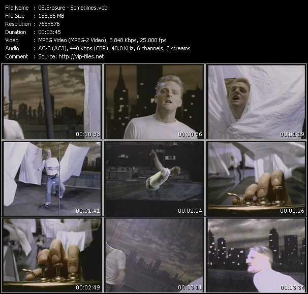 video Sometimes screen