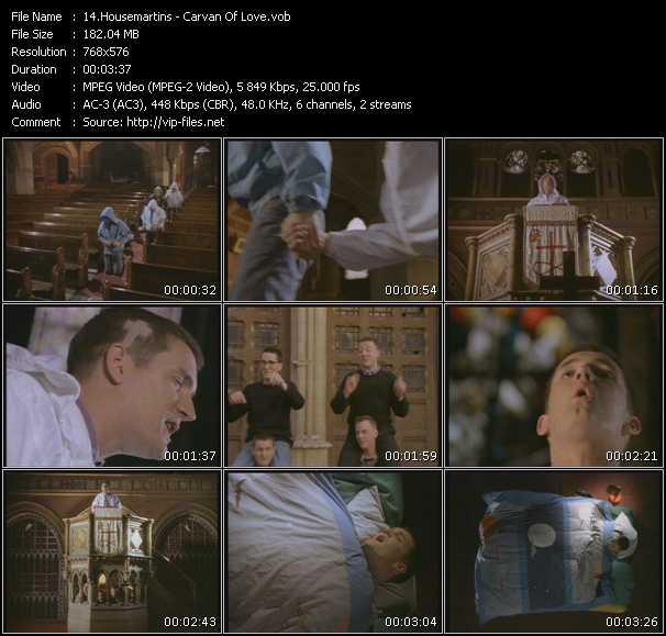 video Carvan Of Love screen