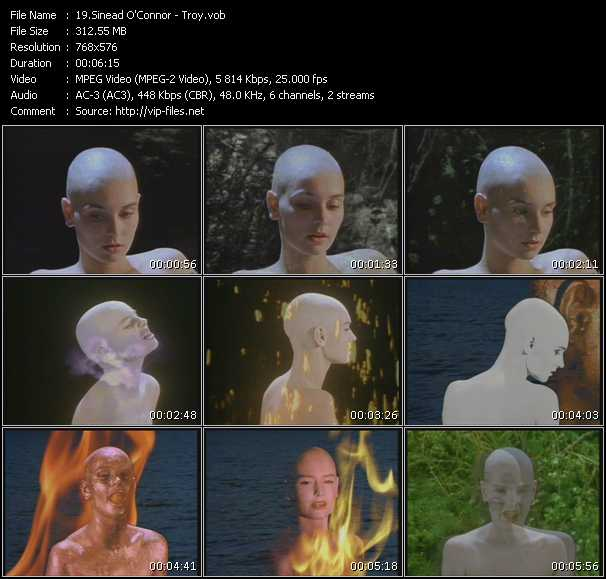 video Troy screen