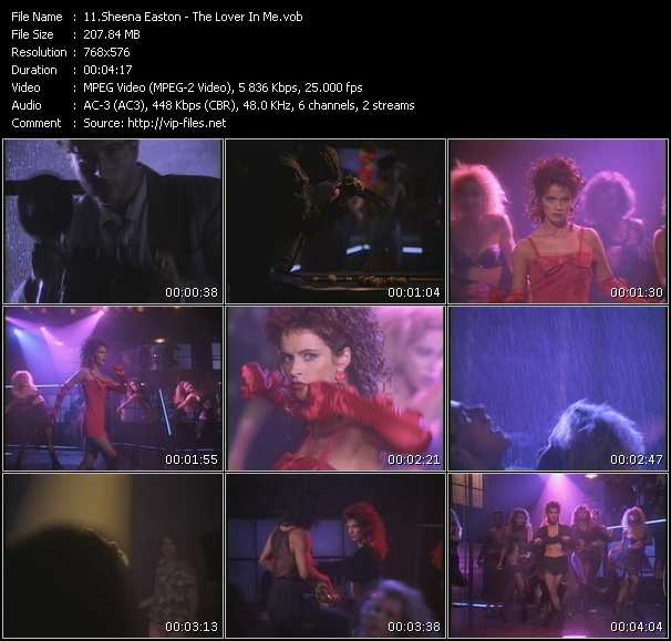 download Sheena Easton « The Lover In Me » video vob