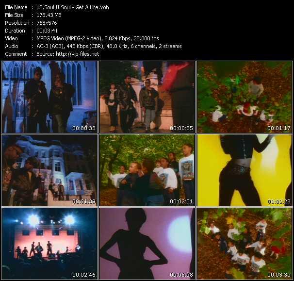 download Soul II Soul « Get A Life » video vob