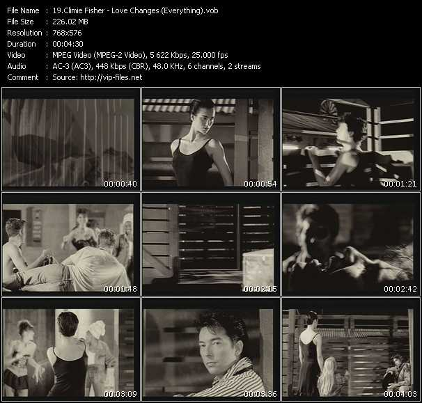 download Climie Fisher « Love Changes (Everything) » video vob