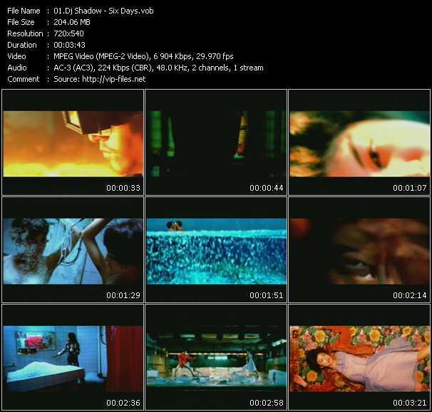 video Six Days screen