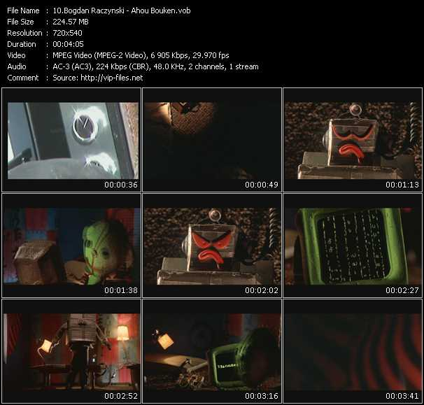 download Bogdan Raczynski « Ahou Bouken » video vob