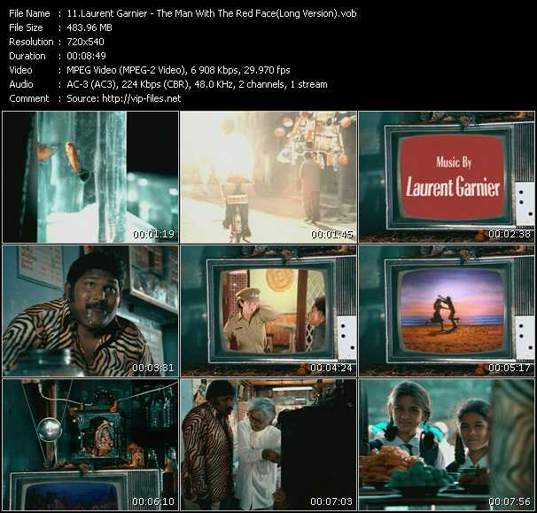 download Laurent Garnier « The Man With The Red Face (Long Version) » video vob