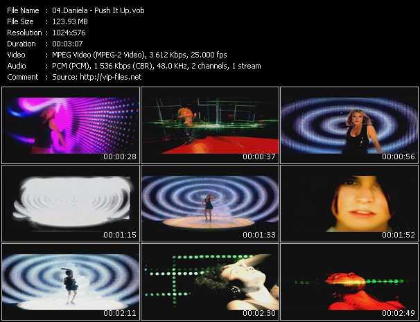 download Daniela « Push It Up » video vob