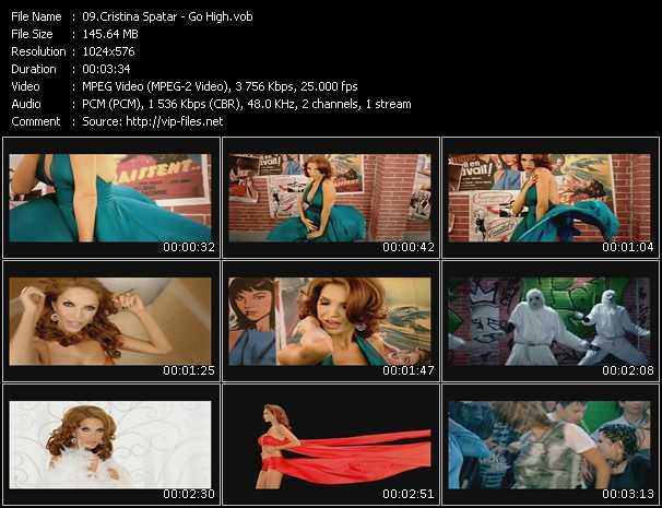 download Cristina Spatar « Go High » video vob