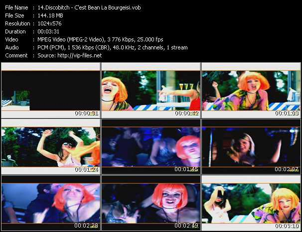 video C'est Bean La Bourgeisi screen