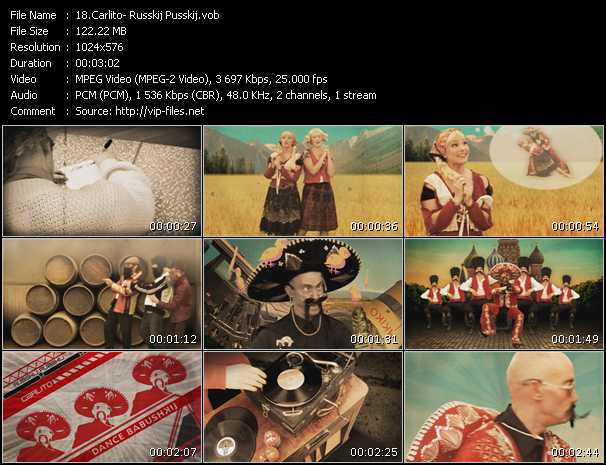 download Carlito « Russkij Pusskij » video vob