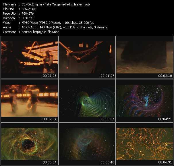 download Enigma « Fata Morgana - Hell's Heaven » video vob
