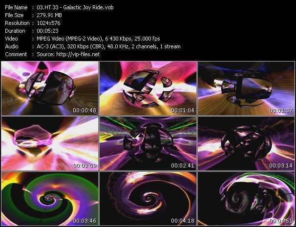 video Galactic Joy Ride screen