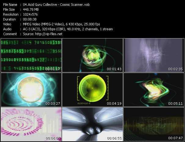 video Cosmic Scanner screen