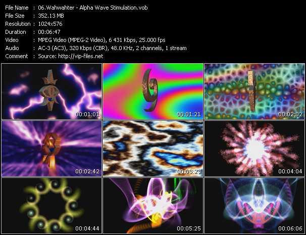 video Alpha Wave Stimulation screen