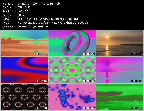 video Trance Surf screen