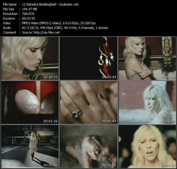 download Natasha Bedingfield « Soulmate » video vob