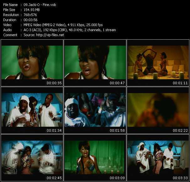download Jacki-O « Fine » video vob