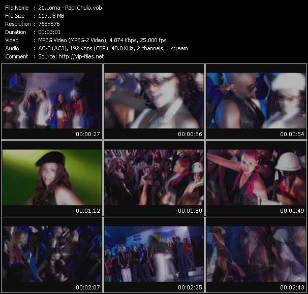 video Papi Chulo screen